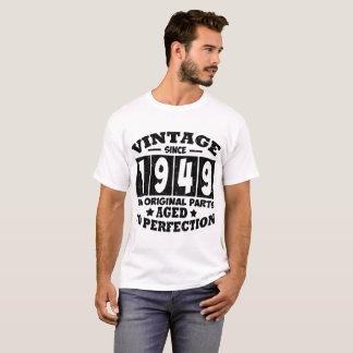 VINTAGE SINCE 1949 ALL ORIGINAL PARTS T-Shirt