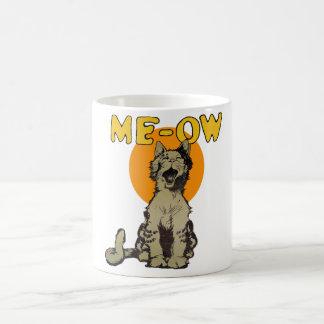 Vintage Singing Alley Cat Gift Mug