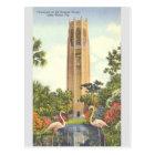 Vintage Singing Tower Lake Wales Florida Postcard