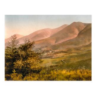 Vintage Skiddaw Cumbria England Postcard