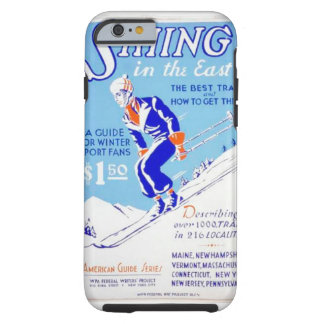 Vintage Skiing in the East WPA Poster Tough iPhone 6 Case
