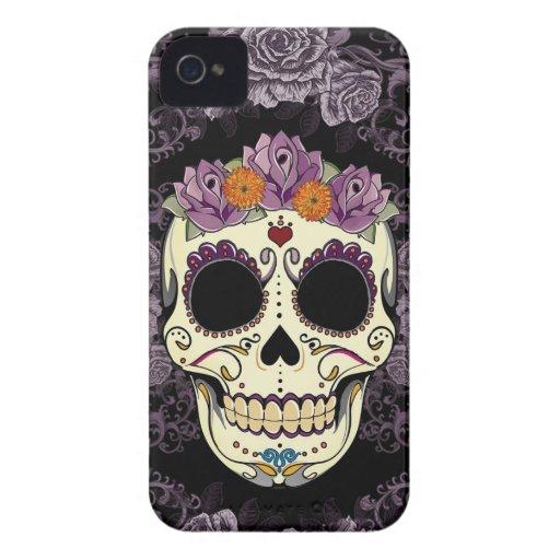 Vintage Skull and Roses Blackberry Bold Case