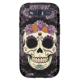 Vintage Skull and Roses Samsung Galaxy Case