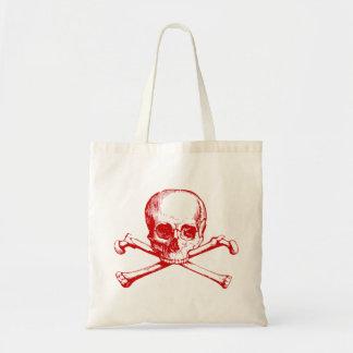 Vintage Skull & Crossbones Tote Bag
