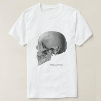 Vintage skull side Hamlet illustration tshirt