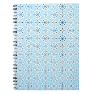 Vintage Sky Blue Notebook
