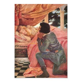 Vintage Sleeping Beauty by Jessie Willcox Smith Card