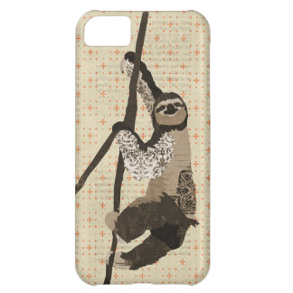 Vintage Sloth iPhone Case