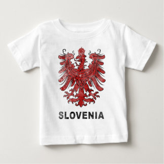 Vintage Slovenia Eagle Baby T-Shirt