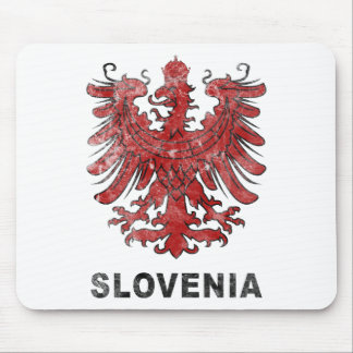 Vintage Slovenia Eagle Mouse Pad