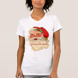 Vintage Smiling Santa Christmas Holiday Funny V08 Tees