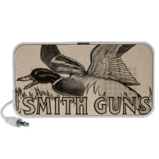 Vintage Smith Guns Duck Hunting Portable Speakers