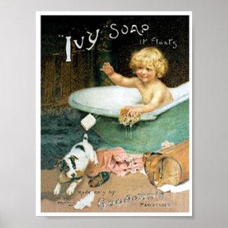 Vintage Soap Ad Print