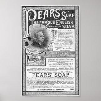 Vintage Soap Ad Print. Poster