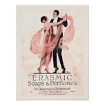 Vintage Soap and Perfume Poster