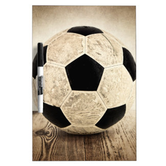Vintage Soccer ball Dry Erase Board