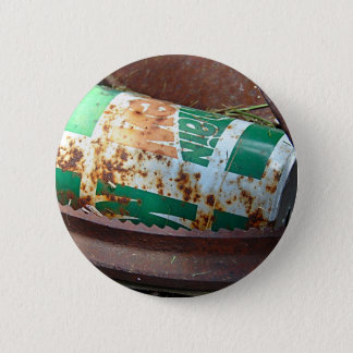 Vintage Soda Can in a Pile of Junk 2 Inch Round Button