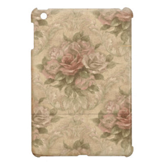 Vintage Soft Rose Floral iPad Mini Cases