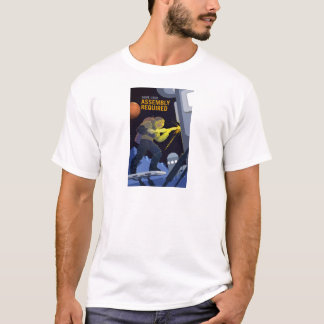 Vintage Some Assembly Required Mars Recruitment T-Shirt