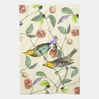 Vintage Songbird Kitchen Towel