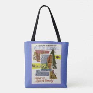 Vintage South Dakota USA bags