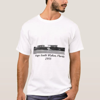Vintage South Walton, Florida cottages in 1955. T-Shirt