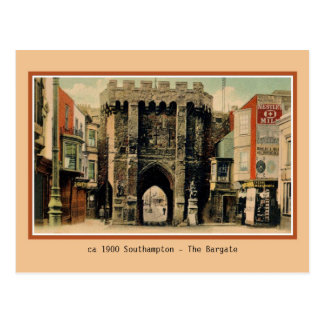Vintage Southampton The Bargate Postcard