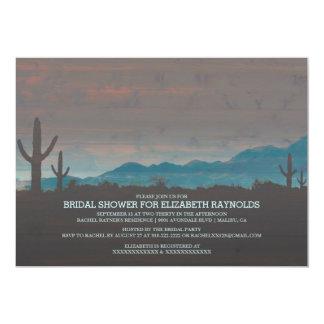 Vintage Southwestern Bridal Shower Invitations