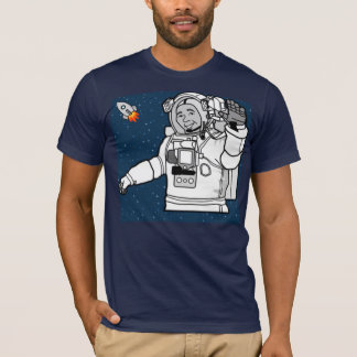 vintage spaceman astronaut tshirt