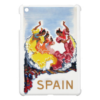 Vintage Spain Flamenco Dancers Travel Poster Cover For The iPad Mini