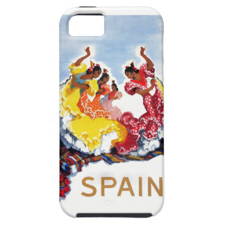 Vintage Spain Flamenco Dancers Travel Poster iPhone 5 Covers