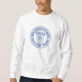 Vintage Spalding & Stewart Logo Sweatshirt