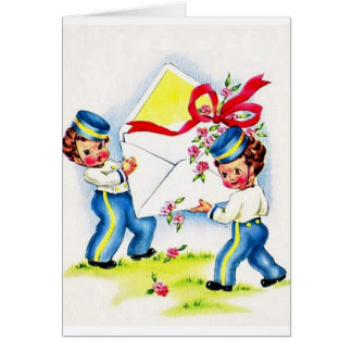 Vintage Special Occasion Greeting Card