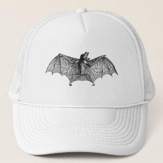 Vintage Spectre Bat Personalized Halloween Bats Trucker Hat