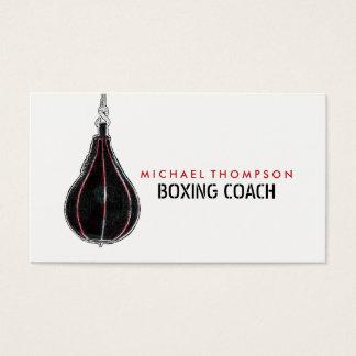 Vintage Speed Bag, Boxing Business Card