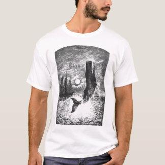 Vintage Sperm Whale Breaching, Marine Life Animals T-Shirt