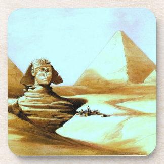 Vintage Sphinx Coaster