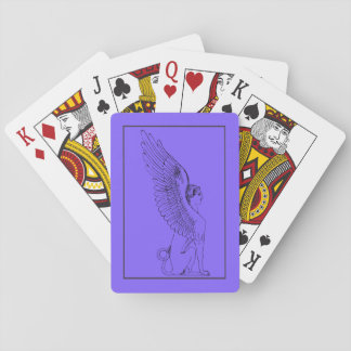 Vintage Sphinx illustration Playing Cards