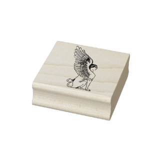 Vintage Sphinx illustration Rubber Stamp