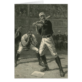 Vintage Sports, Baseball Players by Thulstrup Card