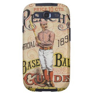 Vintage Sports Baseball, Reach's Guide Cover Art Galaxy S3 Cover