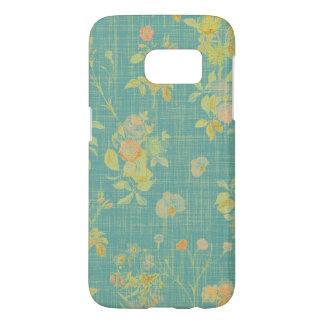 Vintage Spring Floral Samsung Galaxy S7 Case
