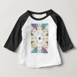 vintage spring handkerchief pattern baby T-Shirt