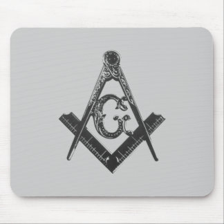 Vintage Square & Compasses Mousepad