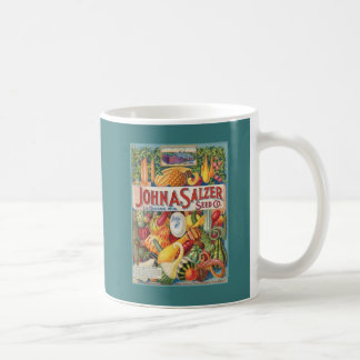 Vintage Squash Seed Packet Coffee Mug
