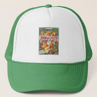 Vintage Squash Seed Packet Truckers Hat