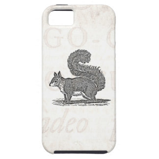 Vintage Squirrel Illustration -1800's Squirrels iPhone 5 Case