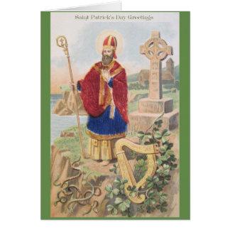 Vintage St. Patrick Greeting Card