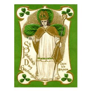 Vintage St Patrick St Patrick's Day Card