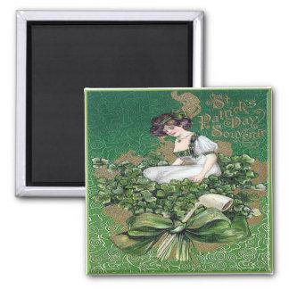 Vintage St Patricks Day 16 Magnet